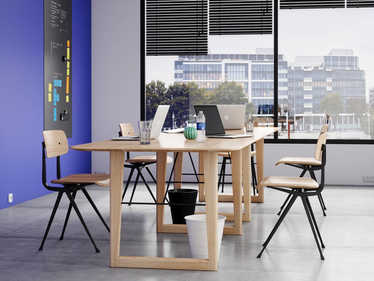 Espace de travail avec table CLOE